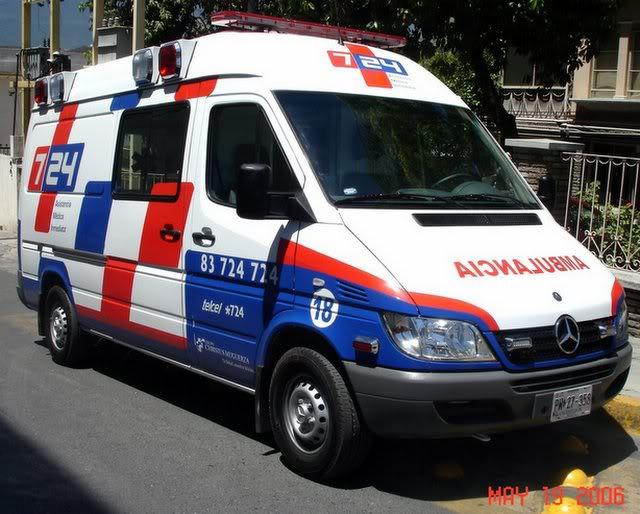 ¿Cuantos tipos de Ambulancias Terrestres Existen? Mail20DSC03221