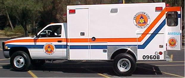¿Cuantos tipos de Ambulancias Terrestres Existen? TIPO20120DODGE204X4
