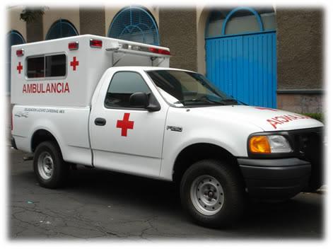 ¿Cuantos tipos de Ambulancias Terrestres Existen? TIPO20120F250204X420FRENTE