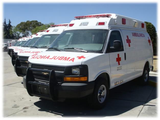 ¿Cuantos tipos de Ambulancias Terrestres Existen? TIPO20220CHEVROLET20FRENTE