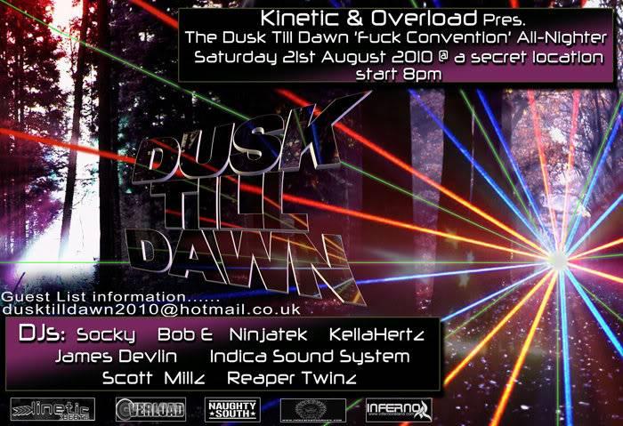 Kinetic Flyers Rave-flyer