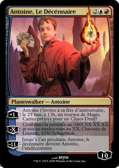 Quand magic devient le thème d'un anniversaire... Antoine-Planeswalker-d