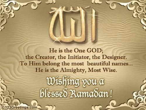 SELAMAT MENUNAIKAN IBADAH PUASA Ramadan