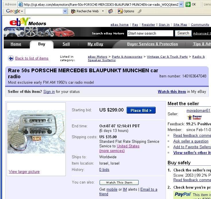 Attention aux achats douteux!! MunchenBus-Porsche