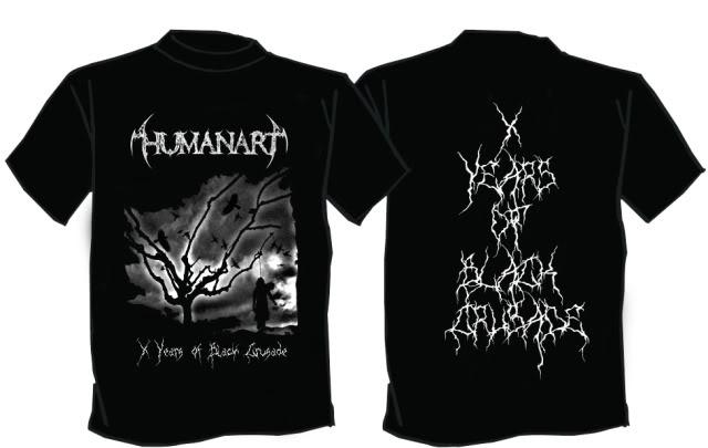 HUMANART (Blackmetal) - est.1998 Modeloaprximado