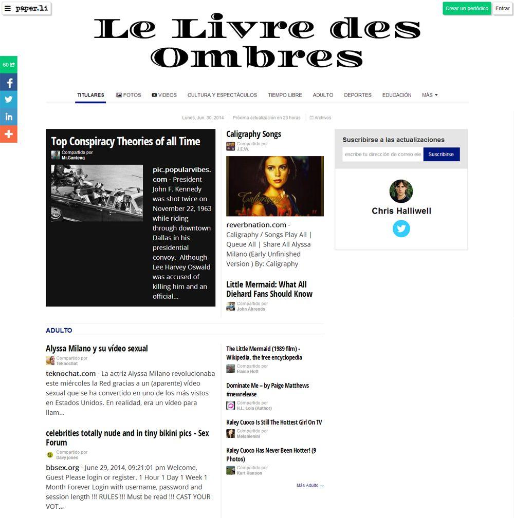 Teknochat sale en prensa digital de Francia PrensaonlineTKCLeLivredesOmbres_zps8fc35ba1