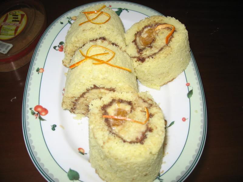Bánh Cuộn Cam Tươi Tulu3