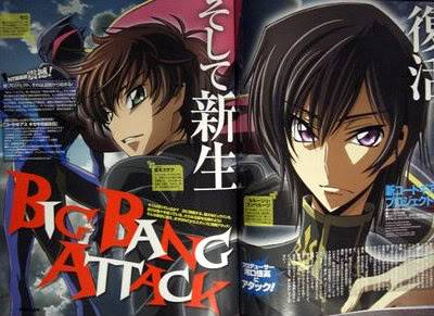 Thông tin mới nhất về anime Code Geass Newgeassanimenewtype