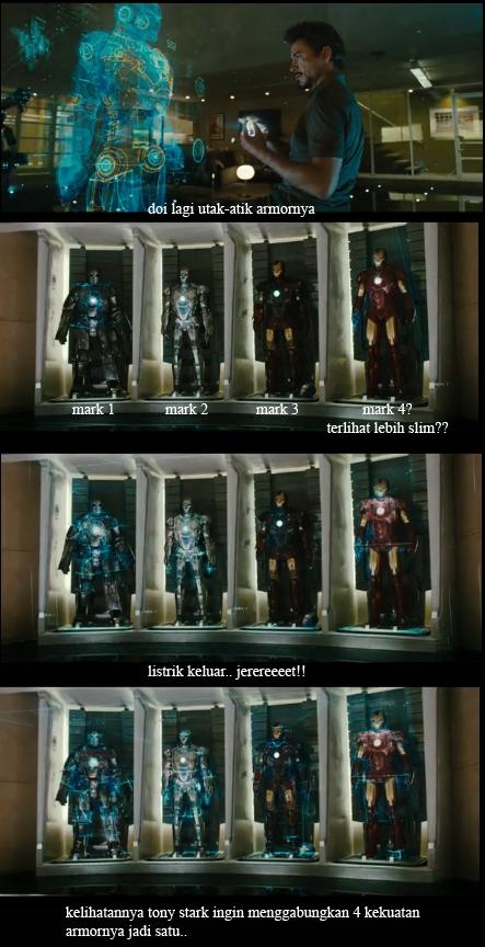 7 Kostum Iron Man Lengkap! IRONMEN
