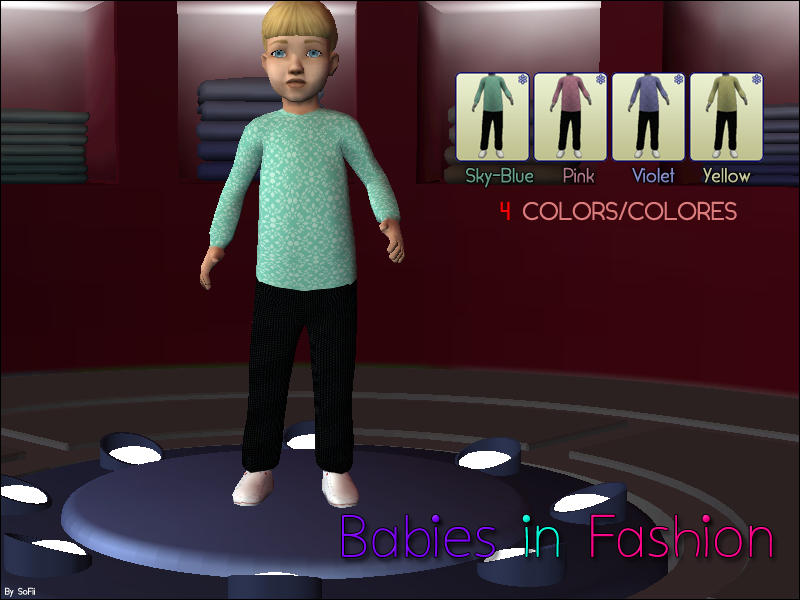 [BS!] Boom Sims! BabiesinFashion