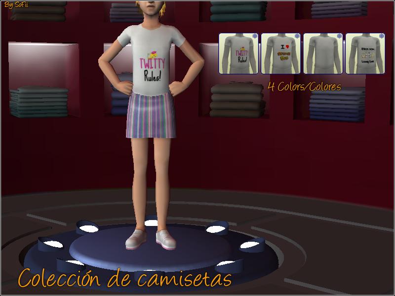 [BS!] Boom Sims! CopiadeColecciondecamisetasBySoFii