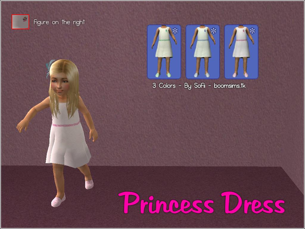 [BS!] Boom Sims! PrincesDressBySoFii