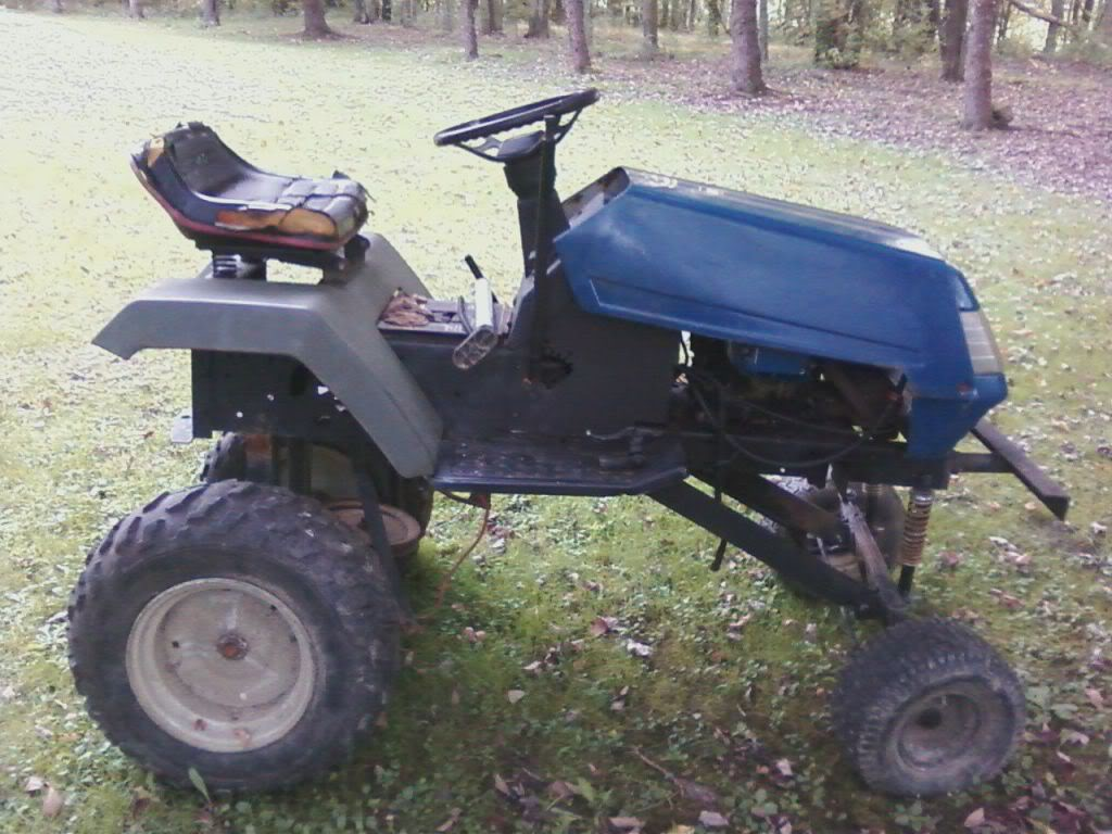 The Tractor That Got You All Into This (First Tractor) N