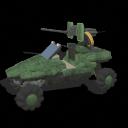 vehículos de la UNSC parte 1 Warthog