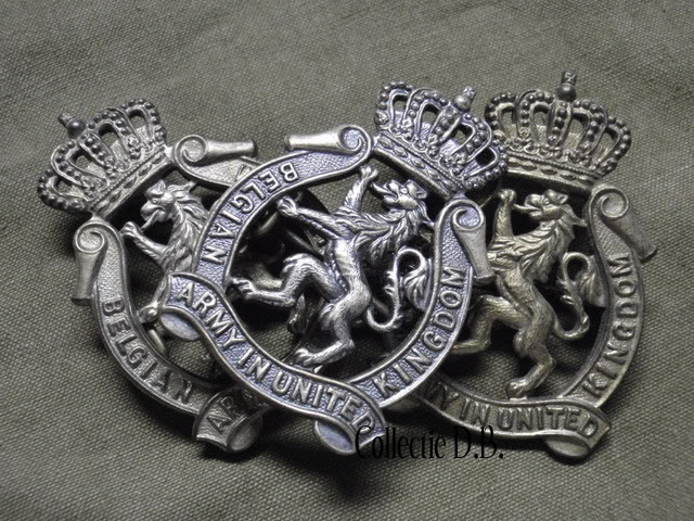 Badge Belgian Army in United Kingdom P5280418-1