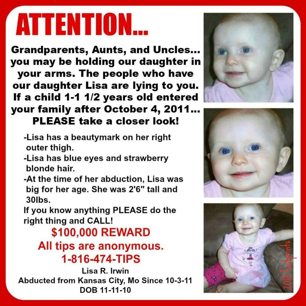Lisa Irwin, still missing in Kansas City, MO - Page 21 BabyLisaonFB71913_zps4c45e05e