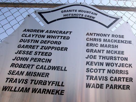 "In Loving Memory Of The 19 Members Of Arizona's Elite ""HotShot"" Firefighters Crew ~ Dedicated to Raine. Prescott_zps0c4fc7b7"