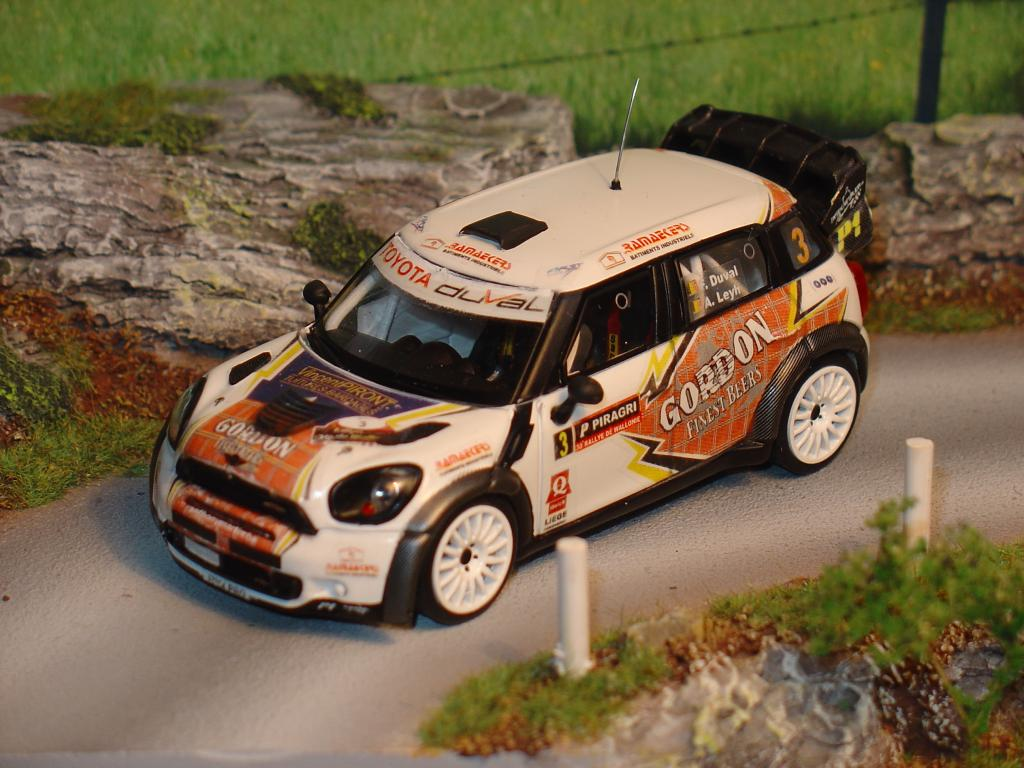 Gordon sponsored cars MiniWRC4