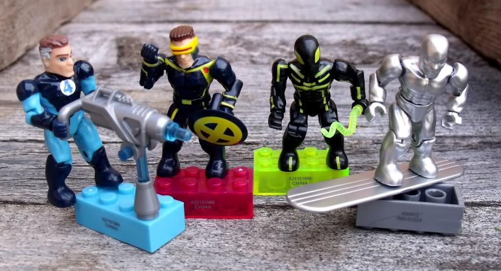 Mega bloks Marvel minifigs MarvelMegaBlocks2