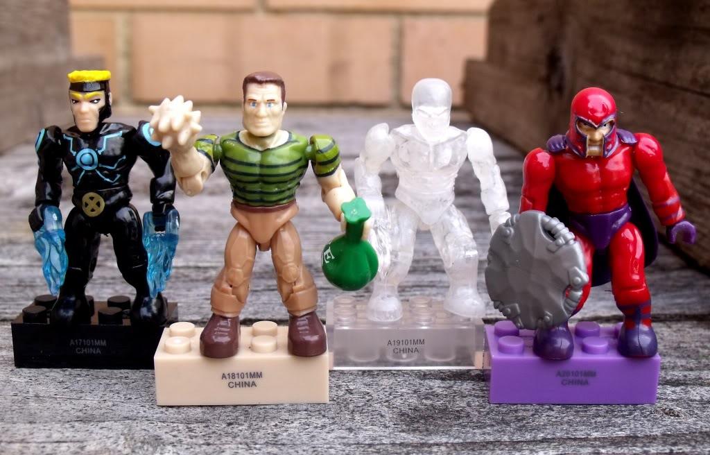 Mega bloks Marvel minifigs MarvelMegablocks1