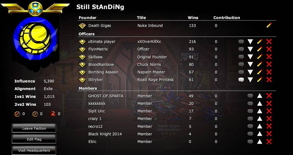 Still StAnDiNg is back Wekill