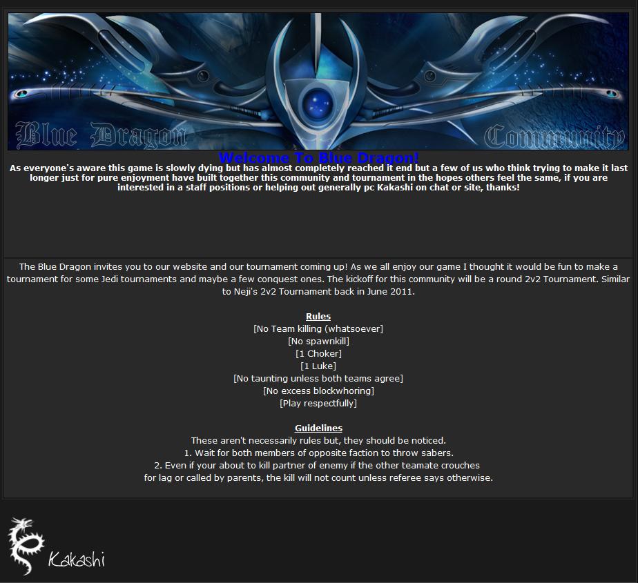 Blue DraGon Community Dragoninvitation