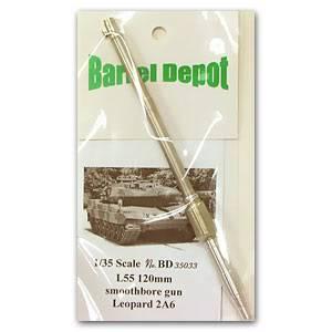 Vendo itens de Militaria, Canos de metal tudo na escala 1:35 Atualizado em 07/03/2014 Leopard2A6120mmBD35033