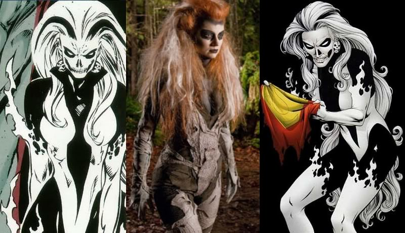 Smallville Bad Guys from DCU - Silver Banshee 10SilverBanshee
