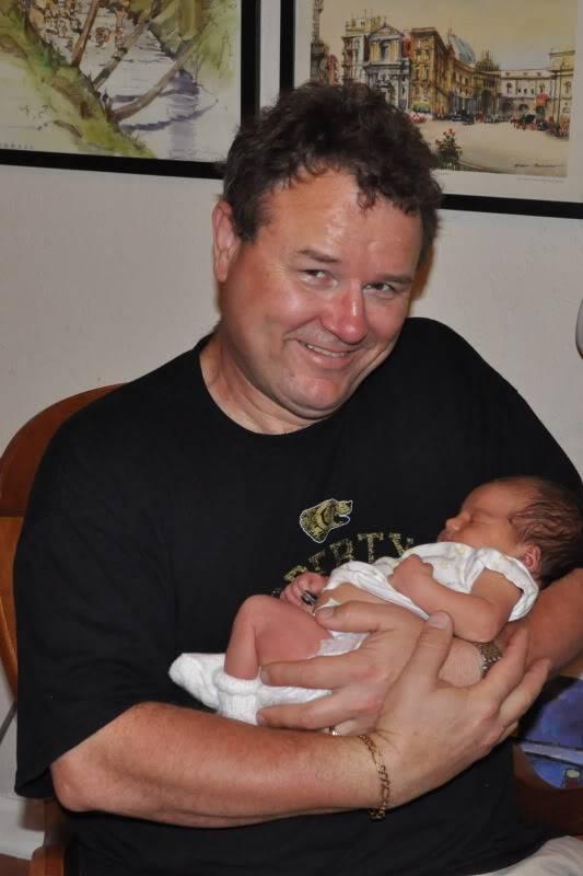 My grand daughter was born... 95e1e844