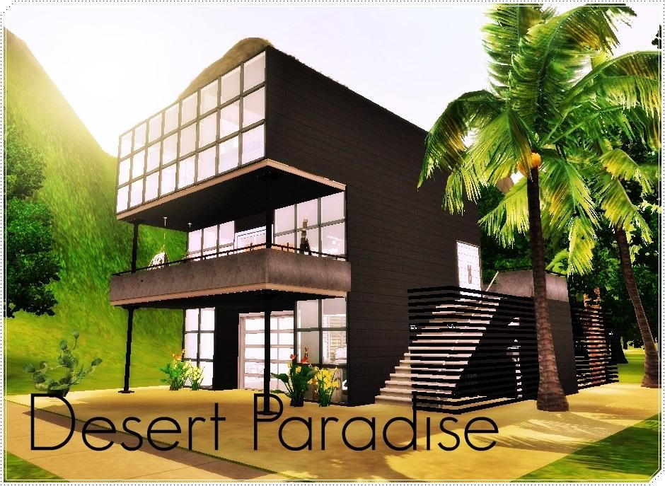 Desert Paradise - Casa para los sims 3 Screenshot-308_zps4a23e41d
