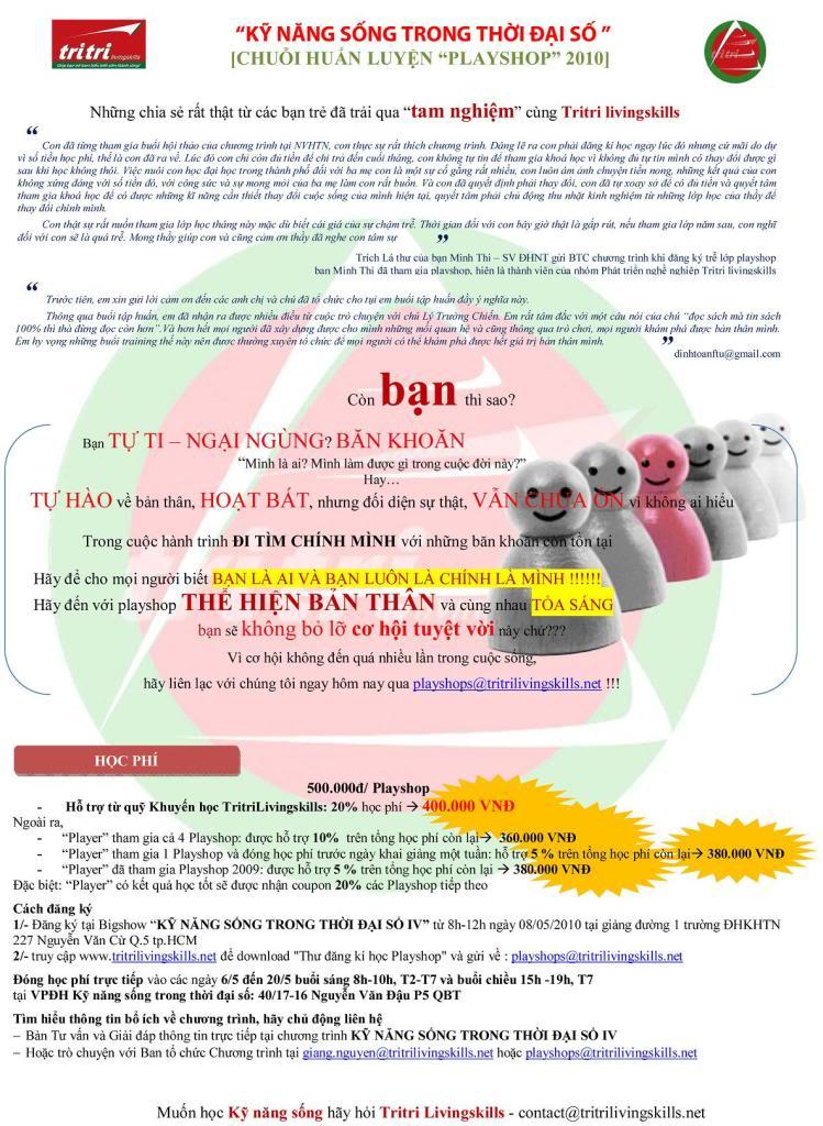 [Trítri livingskills] [CHUỖI PLAYSHOP tháng 5/2010] LeafletI_Tam_0605_Thehienbanthan-2
