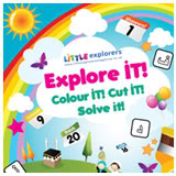 A message from Little Explorers Magazine Explore