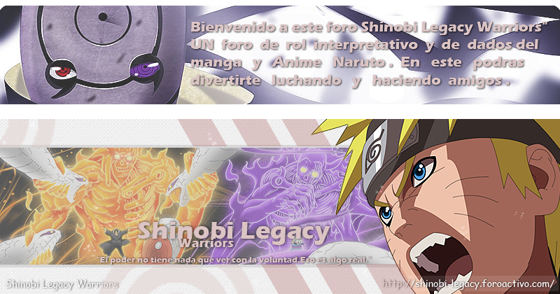Naruto Rol Shinobi Legacy Warriors