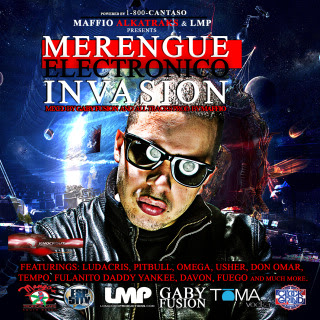 V.A. - Merengue Electronico Invasion The Mixtape - Cd VA-MerengueElectronicoInvasionTheMixtapeByMaffio-Front