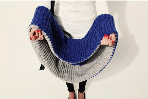 Mọi người giúp em cách đan khăn ống có mũ này với  Untitled-10