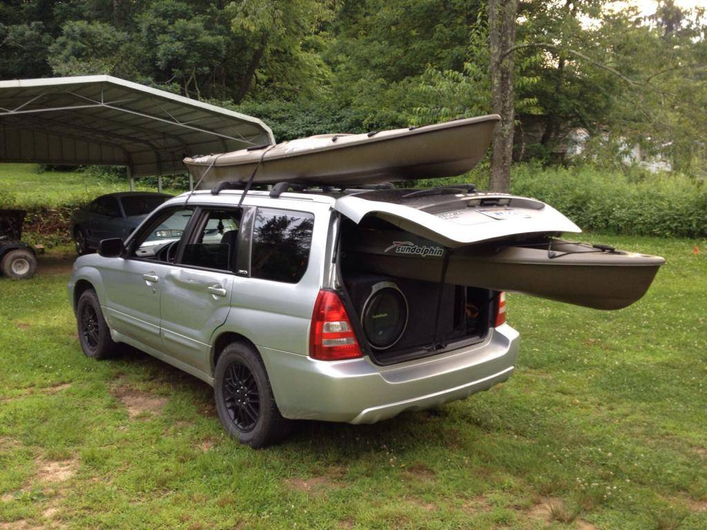 Theese arnt the two stolen kayaks lol my kayaks in my fxt  Image-14