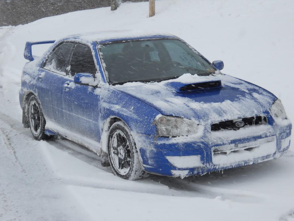 Subie's in the snow!!! Xtx002