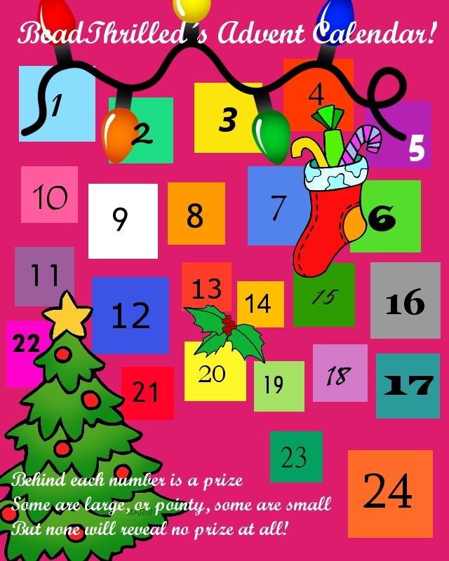 Advent Calendar prize winners! Adventcalendar