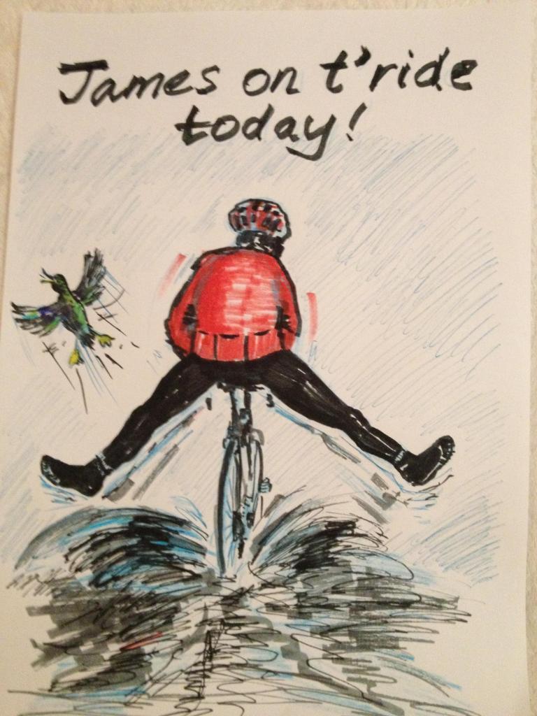 Sunday 23rd Birthday ride  Jiminwet