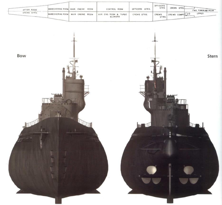 الغواصة اليابانية الحاملة للطائرات Sen Toku I-400-class  + فيديوهات HD  نادرة  و لاول مرة I400copiesg5