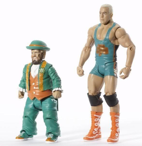 WWE Basic Figures 2-Pack Série 2 Hornsfinlay2