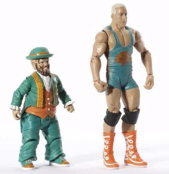 WWE Basic Figures 2-Pack Série 2 Hornsfinlay3