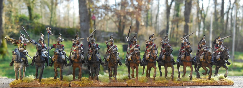 Mes troupes 1er empire Cuirassiers%201