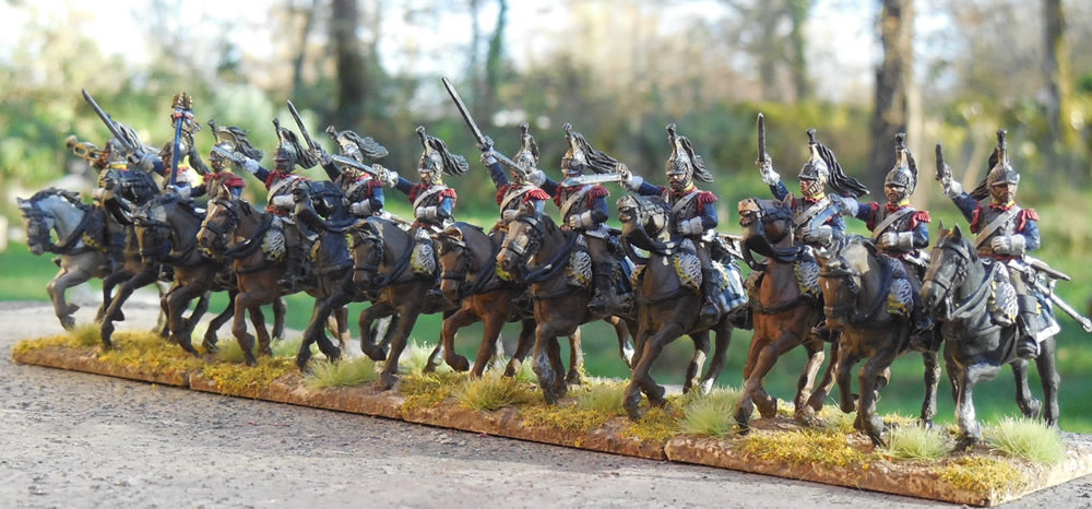 Mes troupes 1er empire Cuirassiers%203