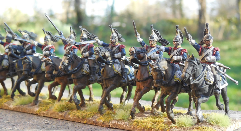 Mes troupes 1er empire Cuirassiers%204