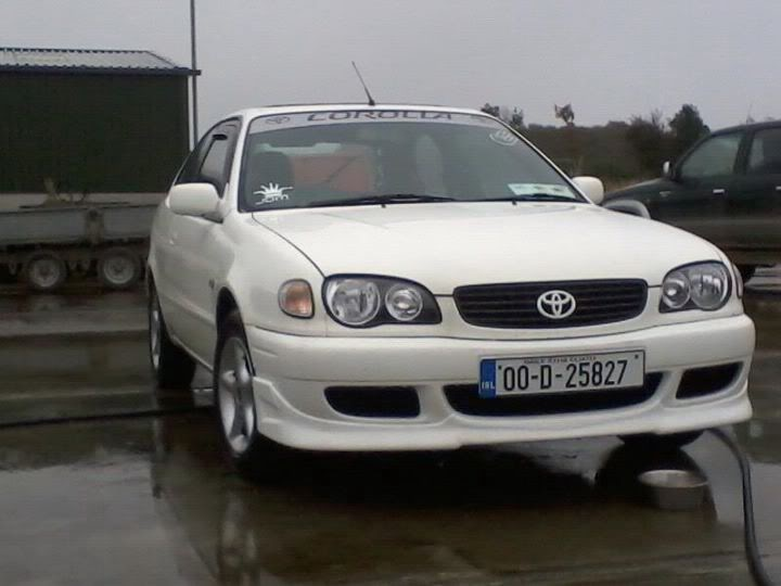 My White E11 Facelift Corolla  799d0d1f