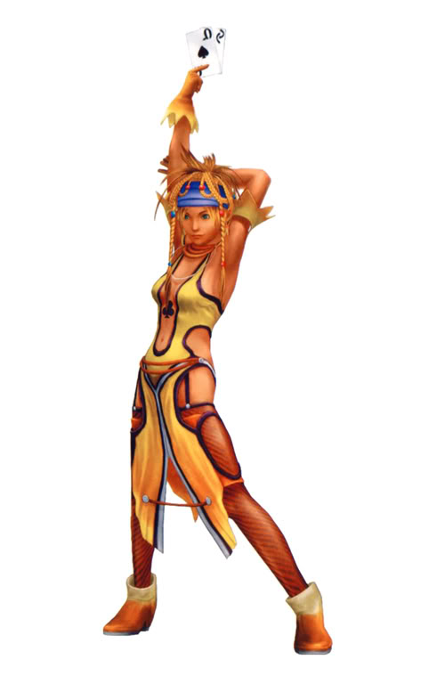 Rikku's Dress Spheres Rikku_Lady-Luck