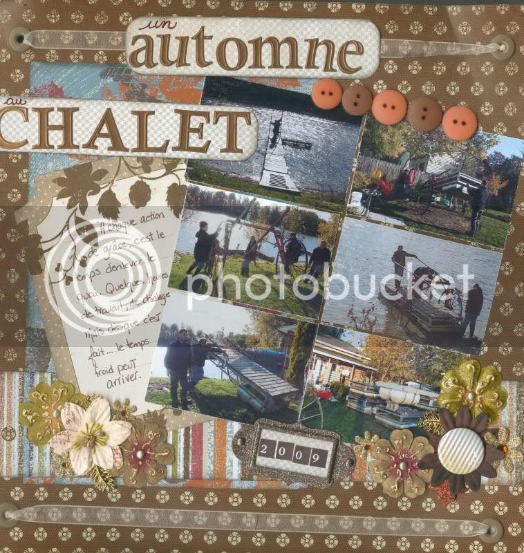 Octobre 2009 (Titre + couleur) Automnechalet