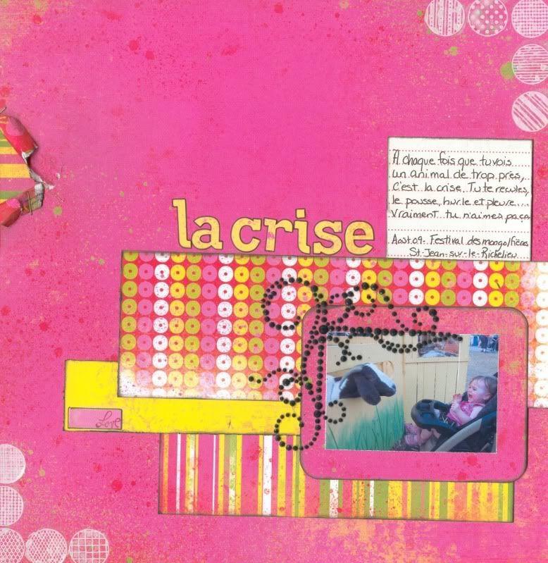 Septembre 2009 - Utilisation d'une photo 2X3 Lacrise