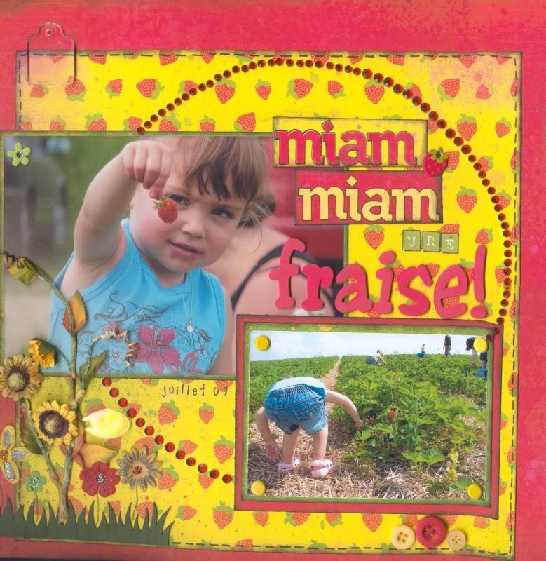 Aout 2009 - Une petite recette Miammiam